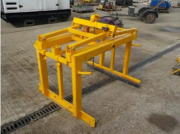 Clemă Probst Mechanical Block Grab to suit Crane