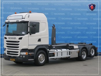 Scania G 450 LB6X2HSA | HOOKLIFT 25T | ABROLLKIPPER 25T | VDL | ALCOAS - camion cu cârlig