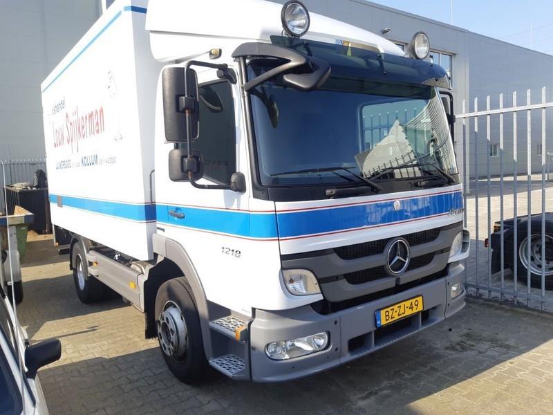 camion furgon Mercedes-Benz ATEGO 1218 L