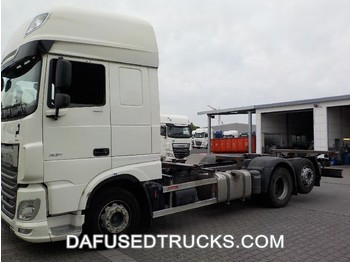 DAF FAR XF480 - camion transport containere/ swap body