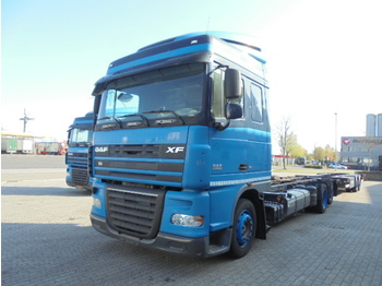 DAF FAR XF 105-410 6X2 - camion transport containere/ swap body