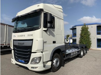 DAF XF 460.26 E6 - camion transport containere/ swap body