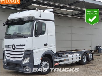 Mercedes-Benz Actros 2545 L 6X2 Retarder Liftachse ACC BigSpace Euro 6 - camion transport containere/ swap body