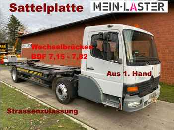 Mercedes-Benz Wiesel-Mafi-Wechsel-Kamag-Rangier-Umsetzer-SZM  - camion transport containere/ swap body