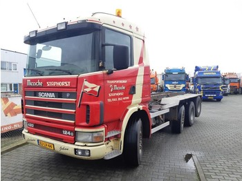Camion transport containere/ swap body Scania R 124 GB 8X2/4 NA 420