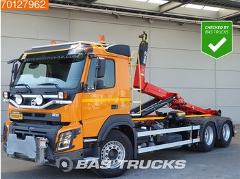 Camion transport containere/ swap body Volvo FMX 410 6X4 NL-Truck HIAB Euro 6