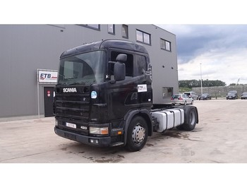 Cap tractor Scania 124 - 420 (MANUAL GEARBOX)