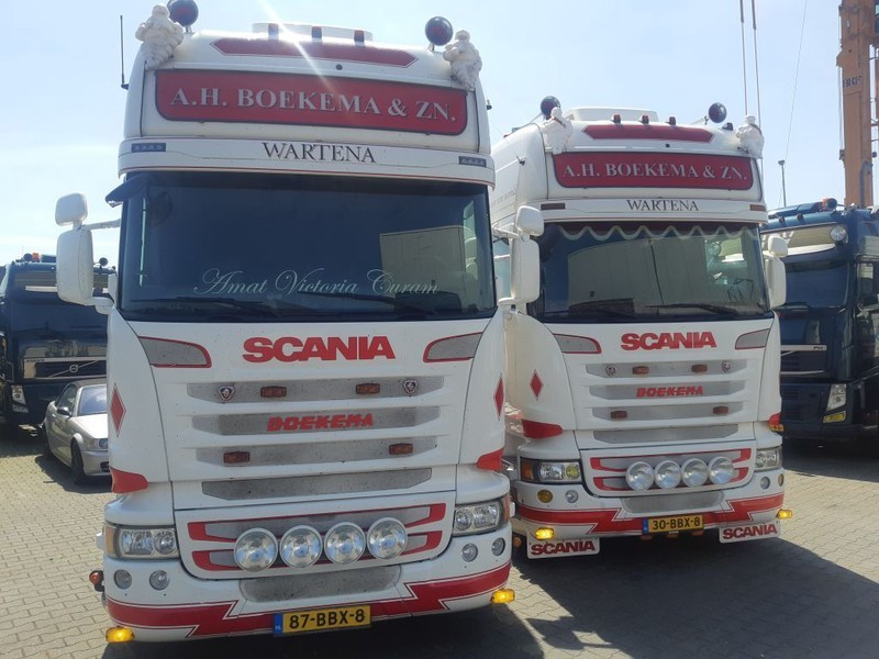 cap tractor Scania 2 x R450 Streamline