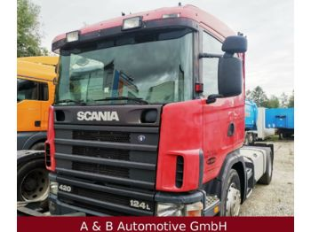 Cap tractor Scania 420 * 124L * manual * Retarder