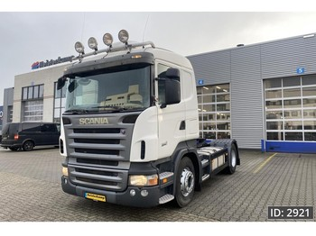 Cap tractor Scania R380 Highline, Euro 5, Manual Gearbox // steel - air // Hydraulics // EURO 5