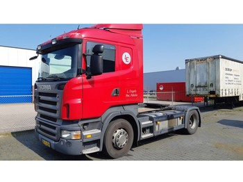 Cap tractor Scania R420 Opticruise with clutch