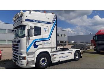 Cap tractor Scania R450 Topline Crown Edition Retarder Full air