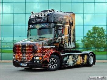 Scania T580 TOPLINE TORPEDO SPECIAL SHOW TRUCK ONE OF A KIND - cap tractor
