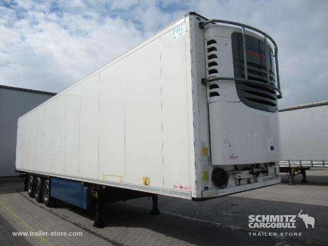 semiremorcă furgon SCHMITZ Auflieger Tiefkühler Fleischhang