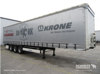 Semiremorcă prelată KRONE Auflieger Curtainsider Coil