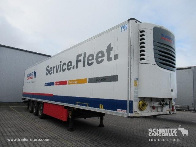 semiremorcă furgon SCHMITZ Auflieger Tiefkühler Multitemp Double deck