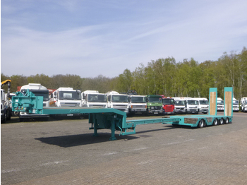 Semiremorcă transport agabaritic Nooteboom 4-axle semi-lowbed trailer extendable 15.6 m + ramps