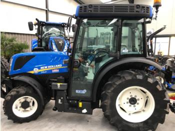 New Holland T4.110 V CAB FRONTLIFT/PTO CAT4 LEVEL CAB - mini tractor
